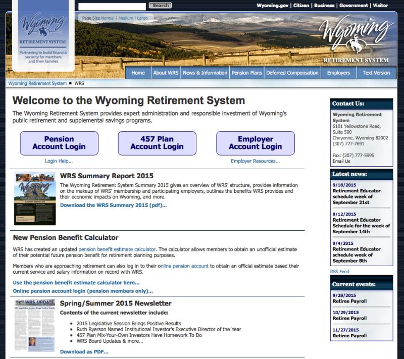 WRS-Website